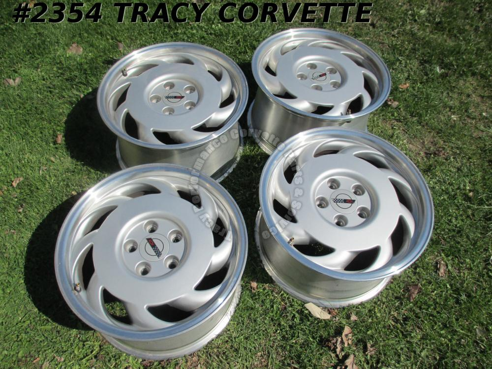 1992 Corvette Used Orig Factory 10137823 10137824 17x9.5X56 Wheels/Set of 4 NICE