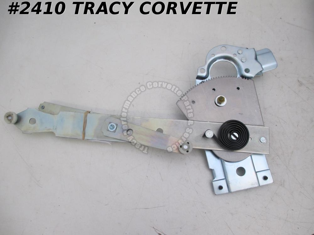 1968-1982 Corvette New Reproduction 20085641 LH Power Window Regulator Assembly