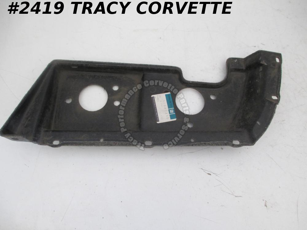 1974 Corvette NOS 345418 Rare Right Hand Tail Lamp Housing Mount Panel, 74 Only