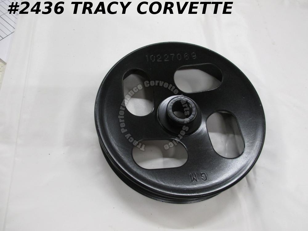 1994-1996 Corvette Used 10227069 P/Strg Pump Pulley 94 1995 96 Power Steering