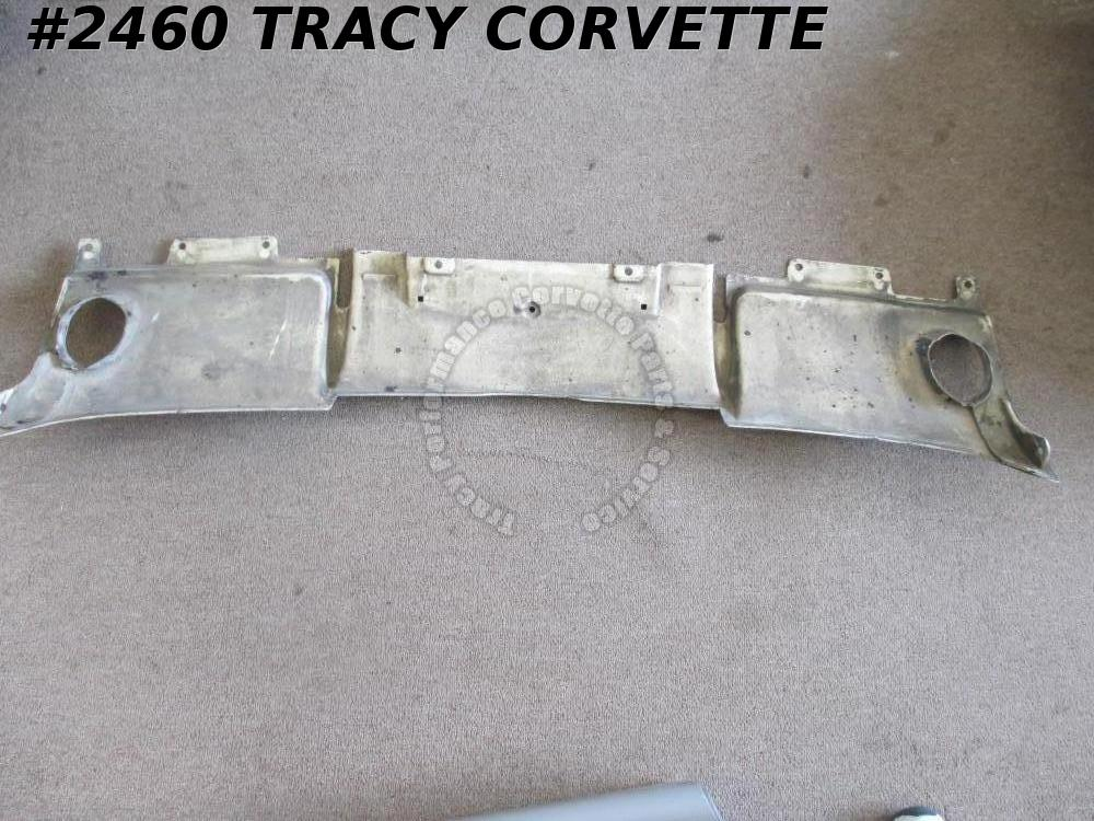 1963 Corvette Filler Panel GM# 3797190 Rear Exhaust Valance w/ Bonding Strips