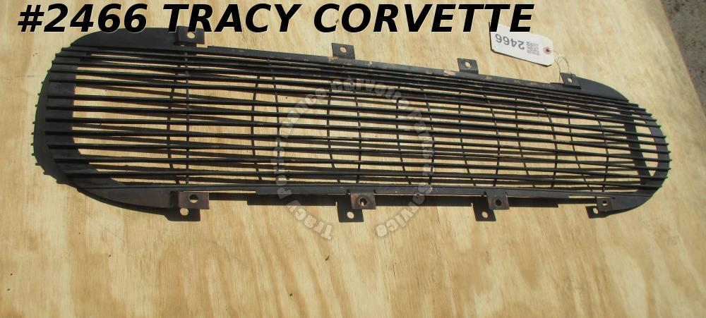 1962 Corvette Front Grille Black GM# 3799730 C1 Survivor Original Used