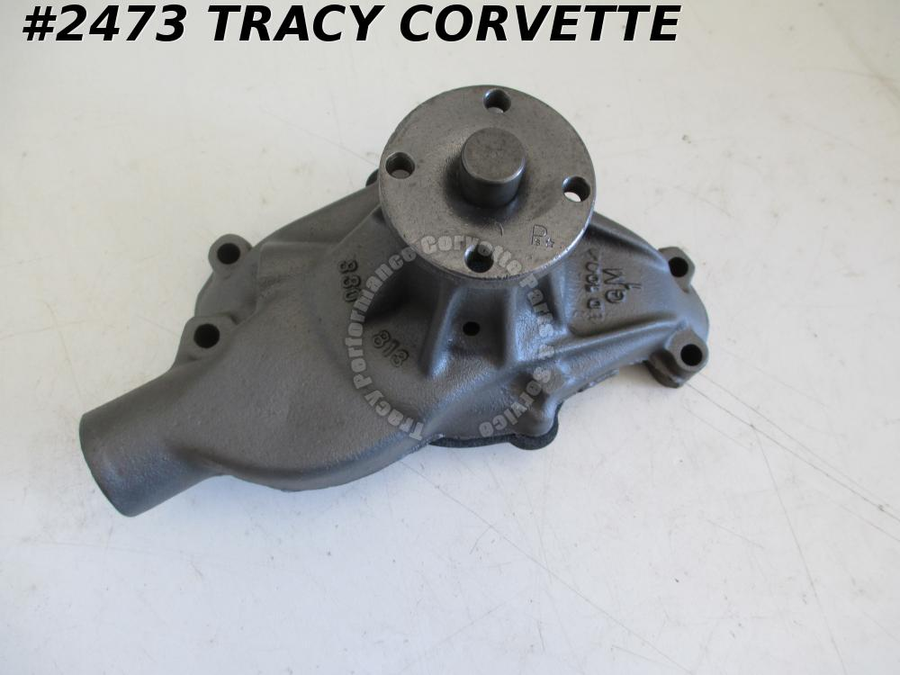 1972-1982 Chevy Corvette Rebuilt Water Pump GM# 330813   Choice of Dates