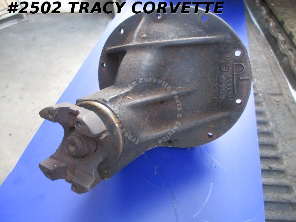 1960-1961 Chevy Vette 3743833 3.36 Posi Diff Assembly G 18 0 Casting Date, 3.36