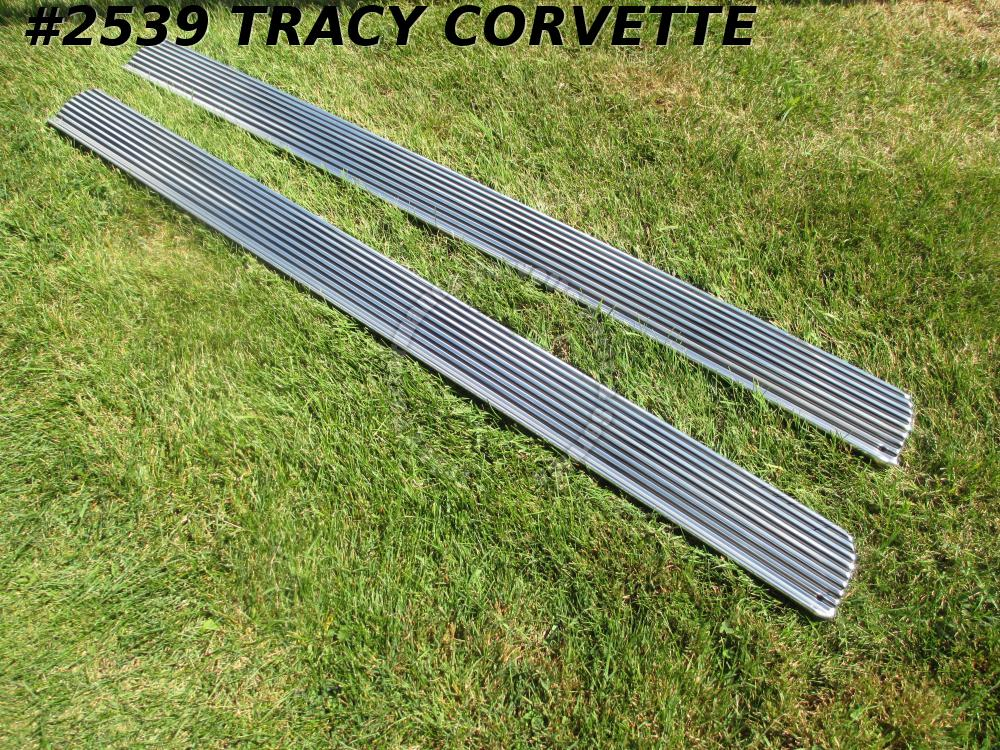 1963 Corvette Rocker Moldings GM# 3834713 63 Only /Pair New Repro