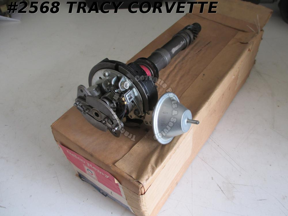 1962-65 Corvette NOS 1111069 Tach Drive Distributor Dated 3 F 14 - 62 63 64 65