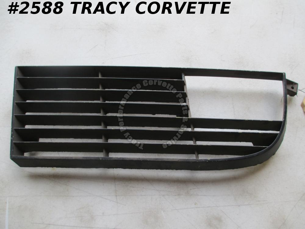 1974 Corvette NOS 342275 LH Metal Outer Front Grill Grille 74