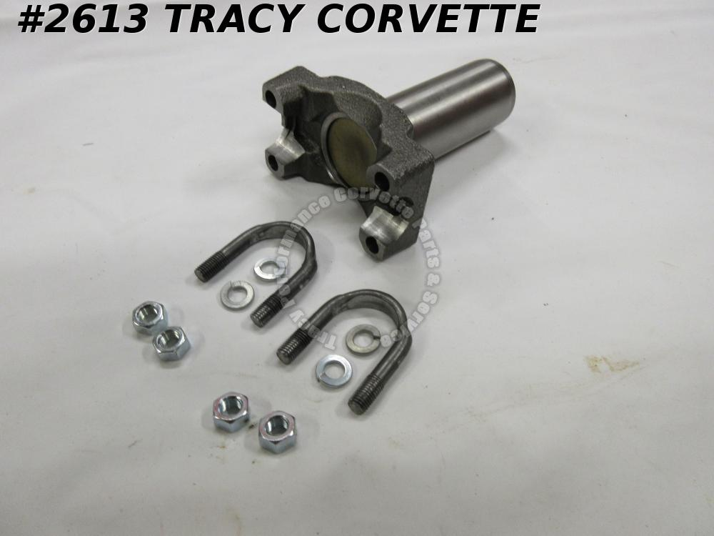 1963-1964 Corvette New Repro. 3818917 Transmission Slip Yoke 16 Spline w/U-Bolts