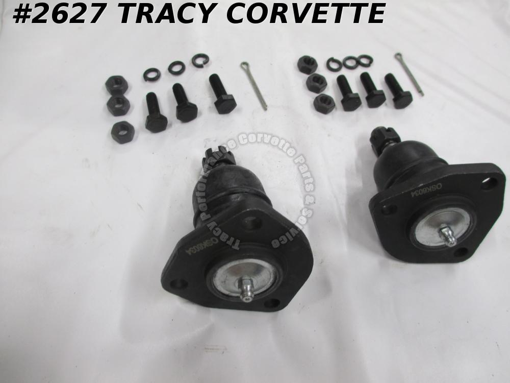 1963-1982 Corvette New Reproduction of 9762018 Upper Ball Joints Kit/Pair 63-82