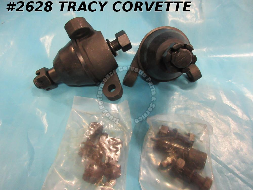 1963-1982 Corvette New Reproduction of 9762019 Lower Ball Joints Kit/Pair, C2 C3