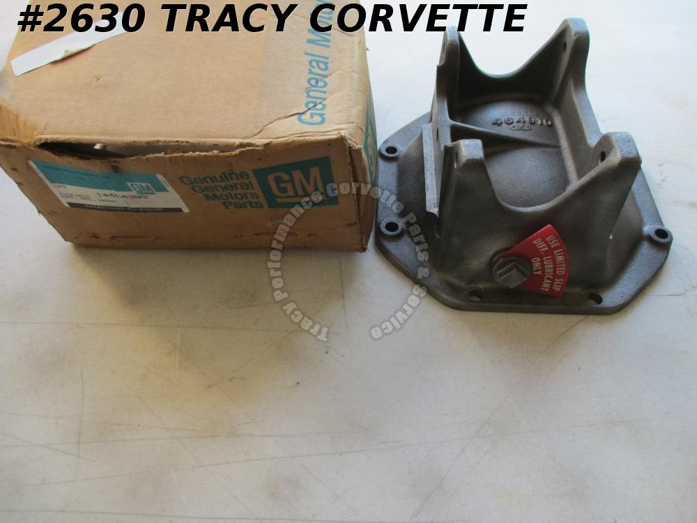 1978-1979 Corvette NOS 464909 464910 Original Differential Rear Axle Cover 2.5""