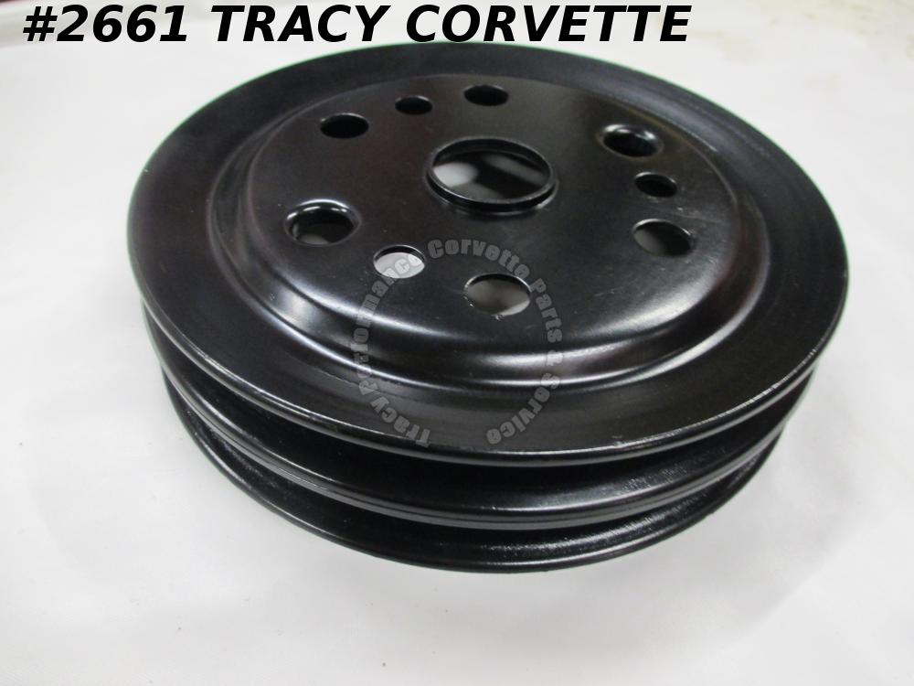 1962-75 Corvette Refurbished Orig 3858533 Crankshaft Pulley