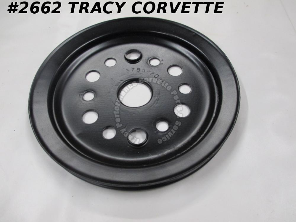1955-57 1966-67 Corvette Refurbished Orig 3755820 BC Crankshaft Pulley Lower