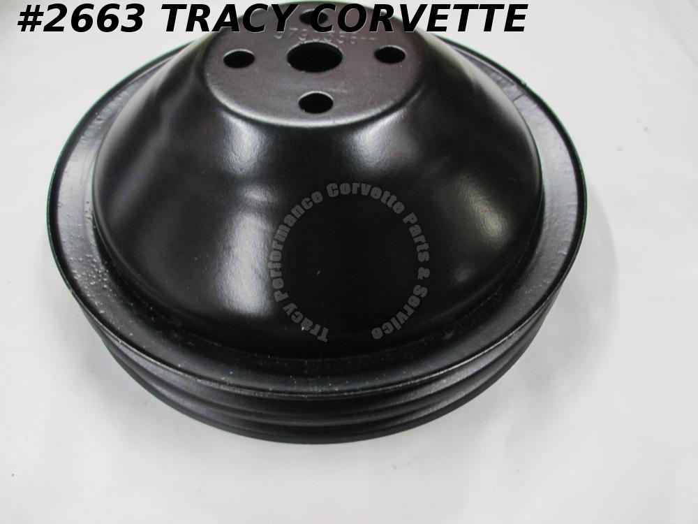 1963-65 Corvette Refurbished Original 3790356 Fan/Water Pump Pulley