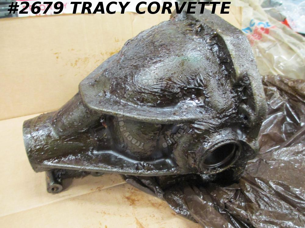 1963-79 Corvette NOS 3917861 Rear End Differential Carrier Open Case w/Caps