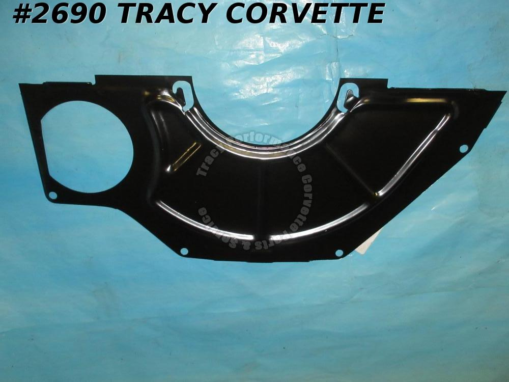 "1963-1982 Corvette New 354497 Clutch Access Dust Cover Shield w/10.5""& 153 Teeth"