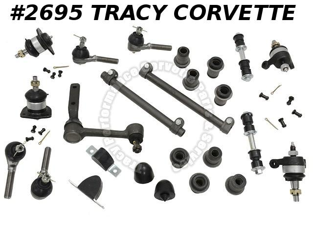 1963-1982 Corvette Front Suspension Rebuild Kit 26 pieces ***InStock***