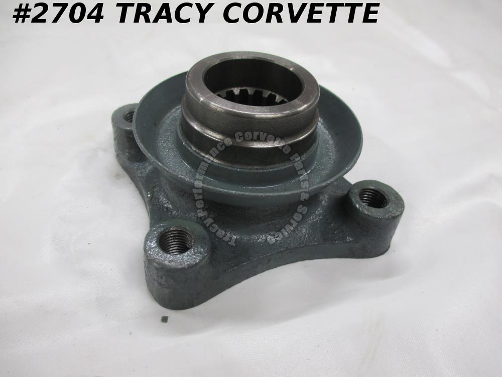 1963-1979 Corvette New Repro 3839830X Rear Spindle Flange, Splines on Spindle