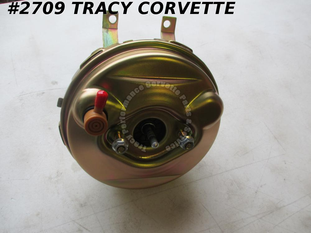 1965-1966 Corvette Power Brake Booster Assembly GM# 5467011  New Repro