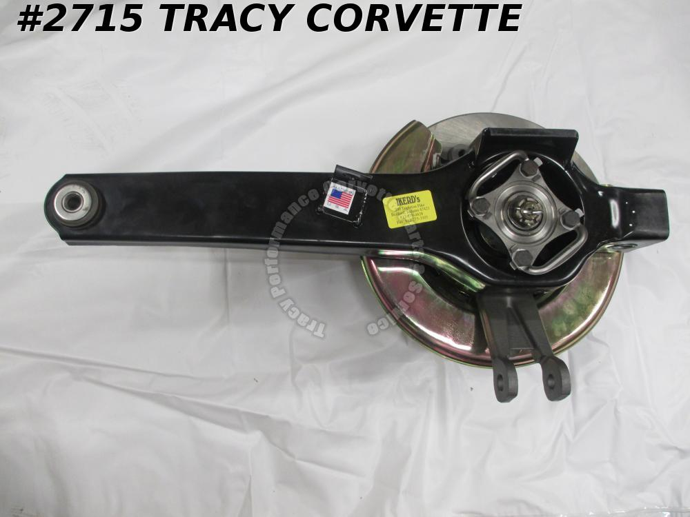 1976-1979 Corvette Trailing Arm Assembly w/Rotor Gold Backing Plate New RH