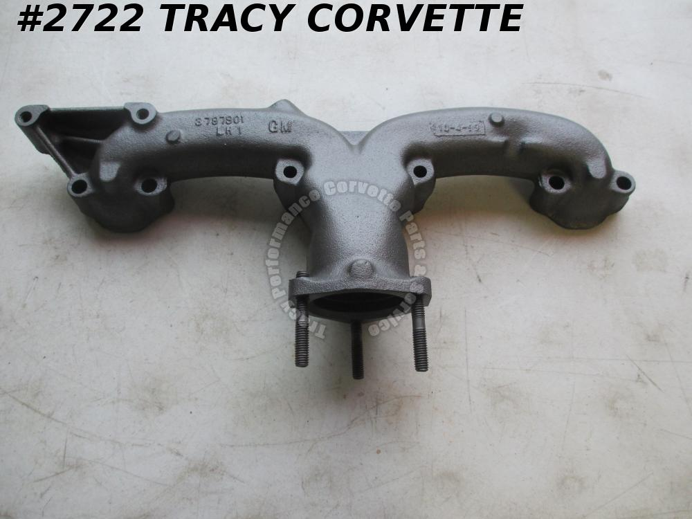 "1962-1963 Corvette Used 3797901 2.5"" LH 327 High Perf. Service Exhaust Manifold"
