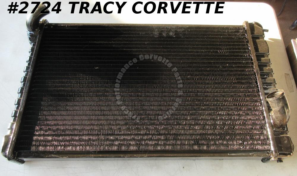 1968-1969 Camaro Resealed Used 3 Row? Auto Trans Radiator By Photo Booth