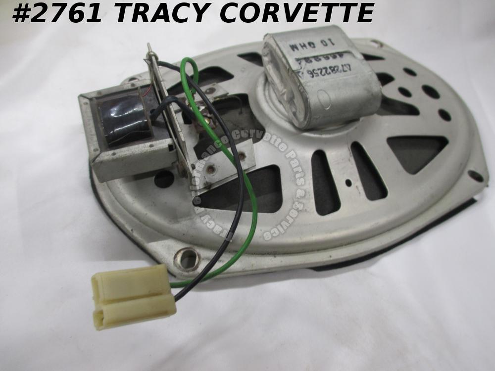 1963-67 Corvette Original 7282256 GM Delco Radio Speaker Asm 10 Ohm/Transformer