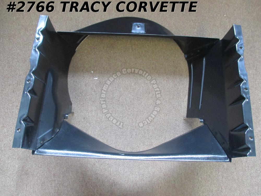 1963-1965 Corvette Restored Original 3829723 Metal Small Block Fan Shroud 63 64