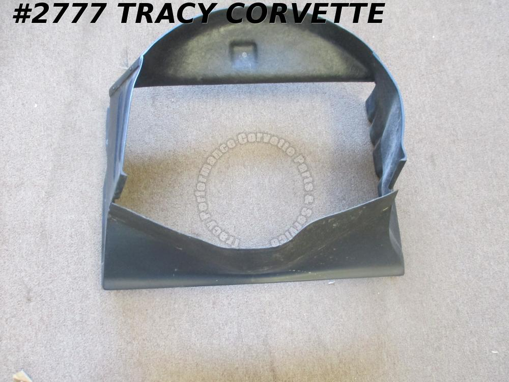 1963-65 Corvette Used Repro 3829723 Fiberglass Small Block Fan Shroud 63 64 65