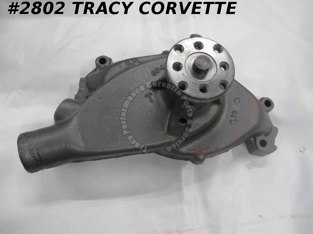 1969-1970 Chevy/Corvette 3940960 Rebuilt Short Water Pump BBC Dated L-10-9 427