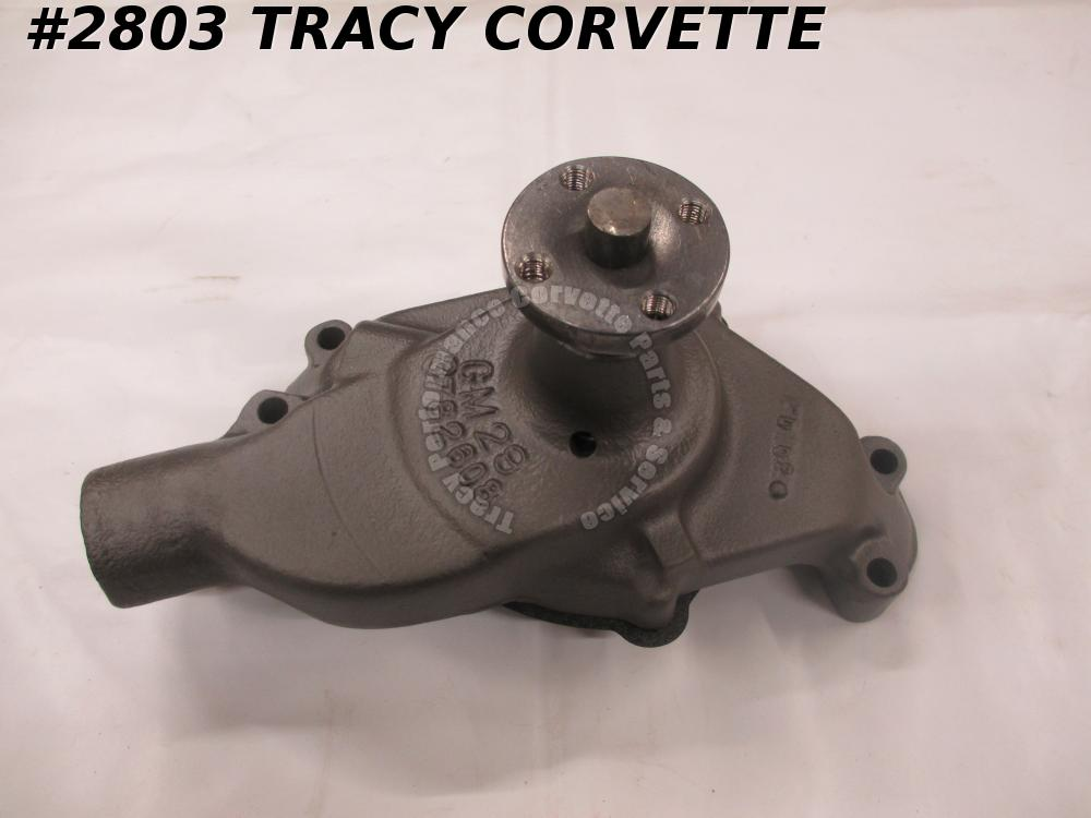 1962-1970 Corvette Rebuilt Water Pump GM# 3782608 Choice of Dates Restored