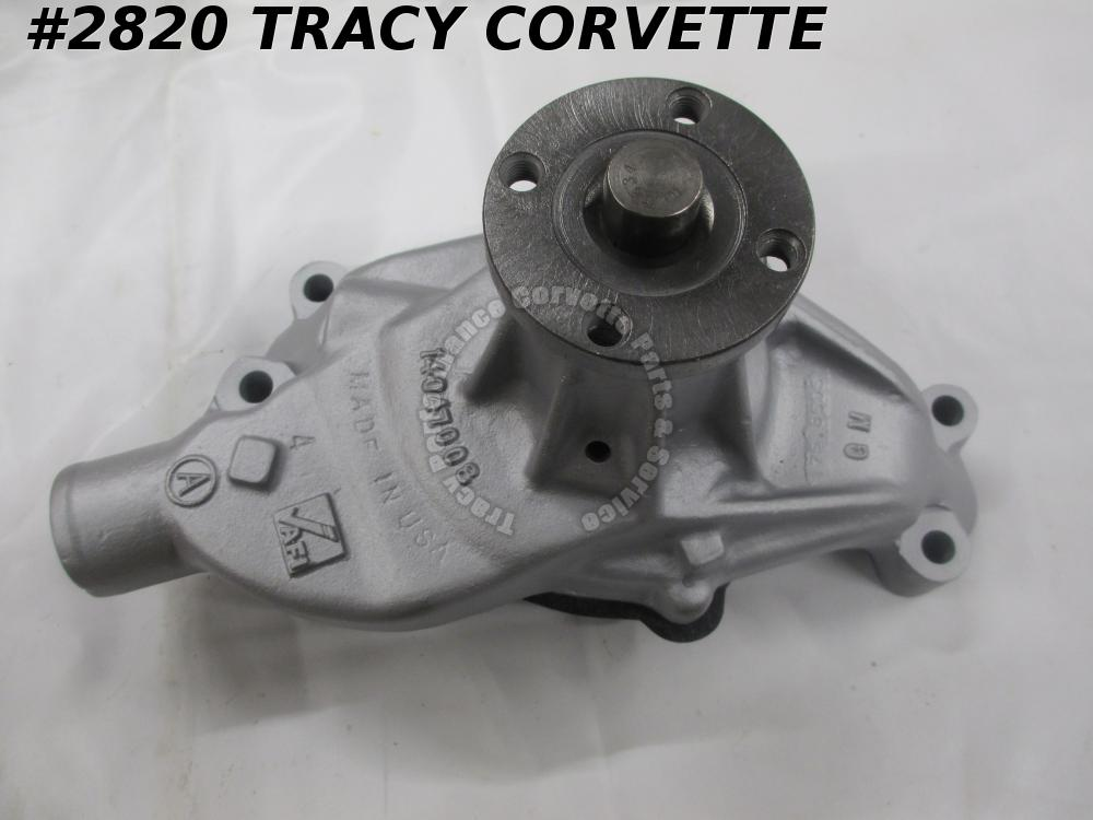 1984-1991 Corvette GM# 14047008 Aluminum Water Pump Small Block