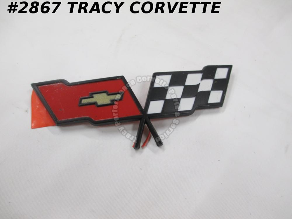 "1982 Corvette NOS 14042292 ""DRIVERS"" Quality Nose Emblem, Not Collector Edition"