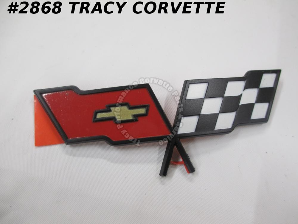 1982 Corvette NOS 14042292 Nose Emblem /Not Collector's Edition