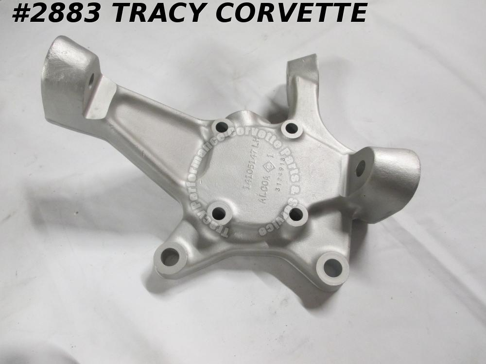 1988-1990 Corvette Steering Knuckle LH Front GM# 14105147 Good Used 1989