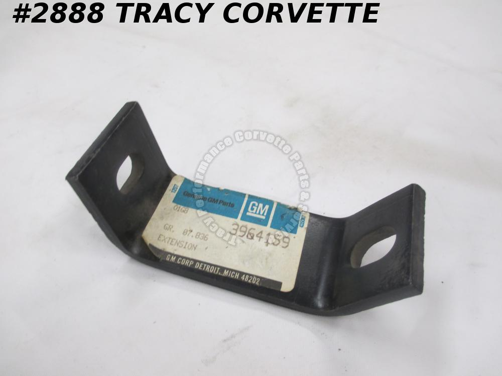 1970-1972 Corvette GM# 3946159 Bumper Bracket Extension Front Outer   1971   NOS