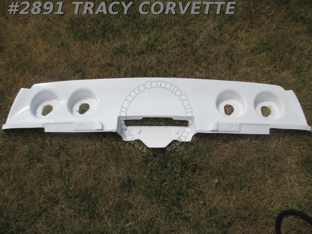 1968-1973 Corvette New 3977864 Repro Hand Layup Fiberglass Tail Lamp Panel 69-73