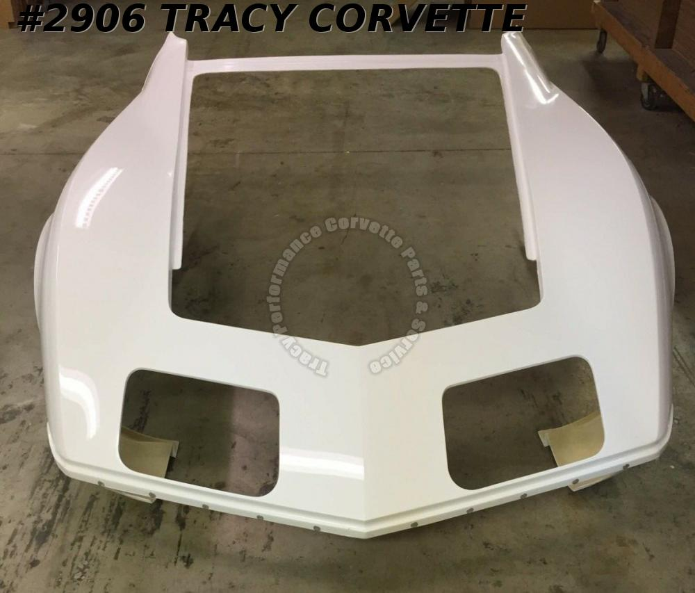 1970 1972 Corvette New 1 Piece Hlu Fiberglass Front End