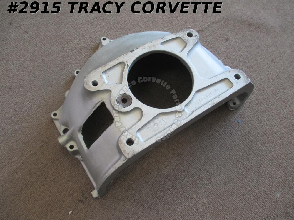 1960 Corvette Used Orig 3764591 Aluminum Bell Housing w/Manual T10 4 Speed Trans