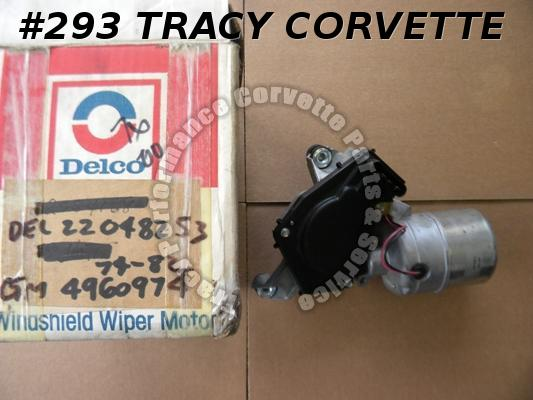 1974-1982 Corvette NOS 4960974 Windshield Wiper Motor 74 75 76 77 78 79 80 81 82