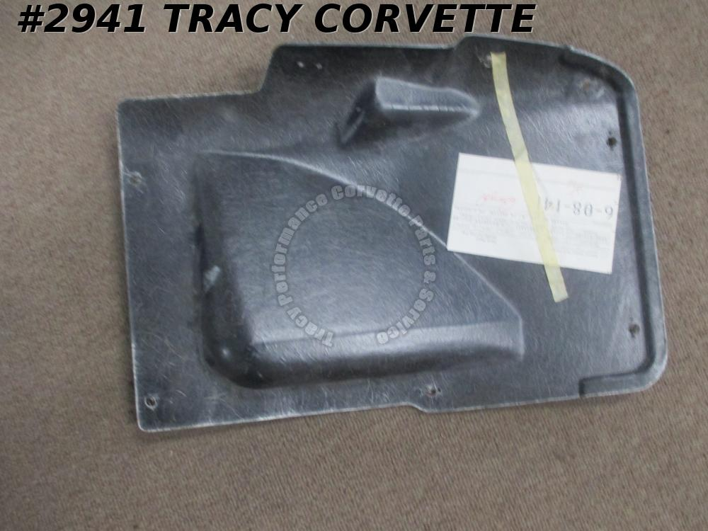 1963-1967 Corvette NOS 3833397 AC/BB LH Fiberglass Battery Inner Skirt Access C2