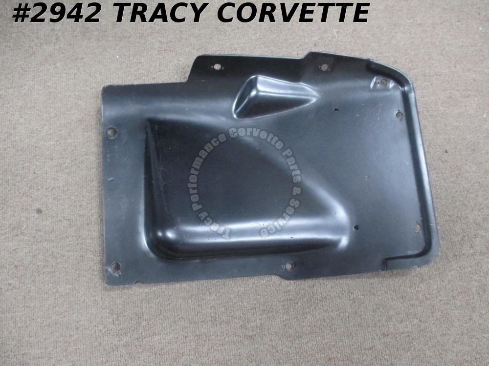 1963-67 Corvette Used Original 3833397 AC/BB LH Battery Inner Skirt Access Panel