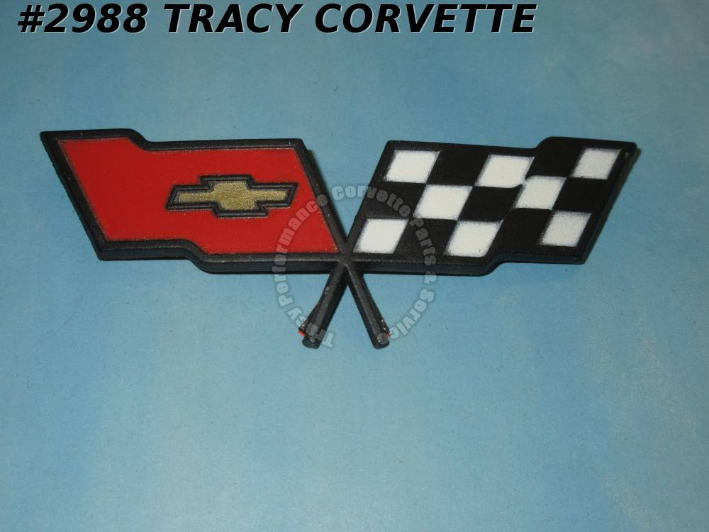 1982 Corvette NOS 14042292 Nose Emblem-NOT Collectors Edition-82 Only Fr Emblem