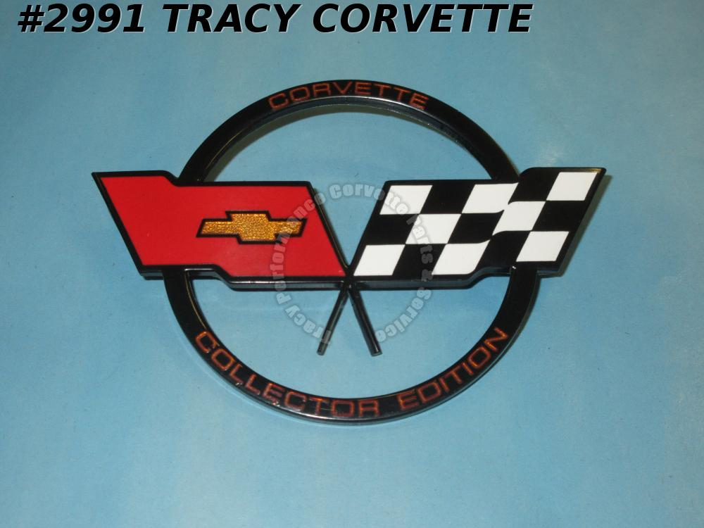 1982 Corvette New 14042290 Nose Emblem-  Collector's Edition - 82