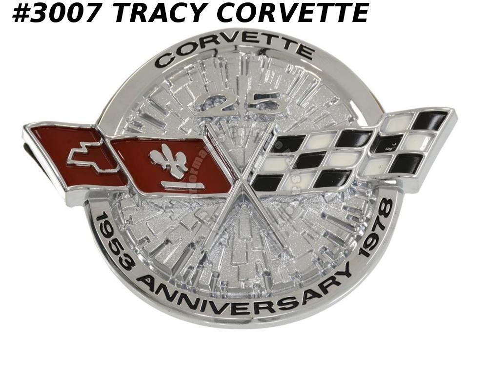 1978 Corvette Reproduction of 472717 Nose Emblem 78