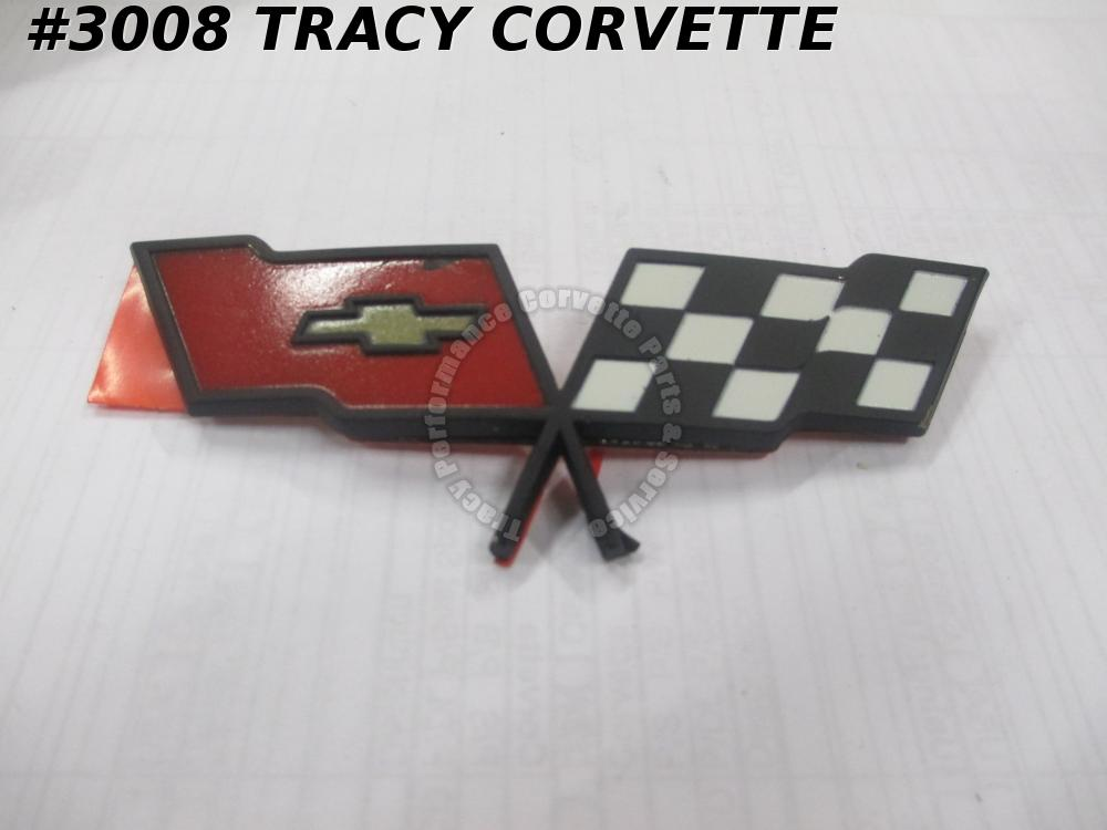 1982 Corvette NOS 14042292 Nose Emblem- NOT Collectors Edition - Needs Touch UP