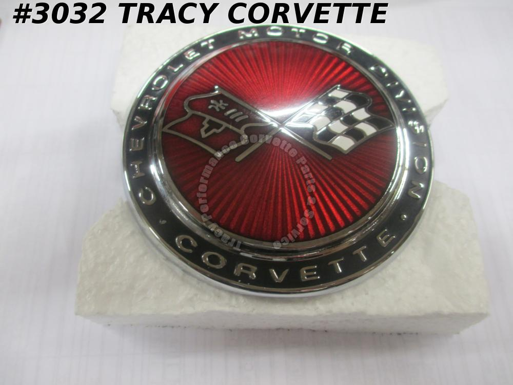 1973-74 Corvette Reproduction of 6259672 Nose Emblem 73 74