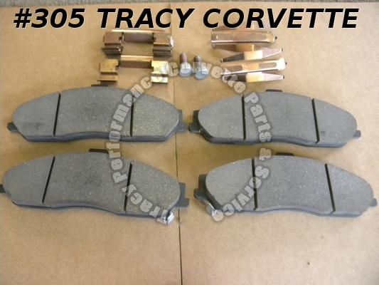 1997-2004 C5 Corvette New GM 12530681 Front Brake Pads 97 98 99 00 01 02 03 04