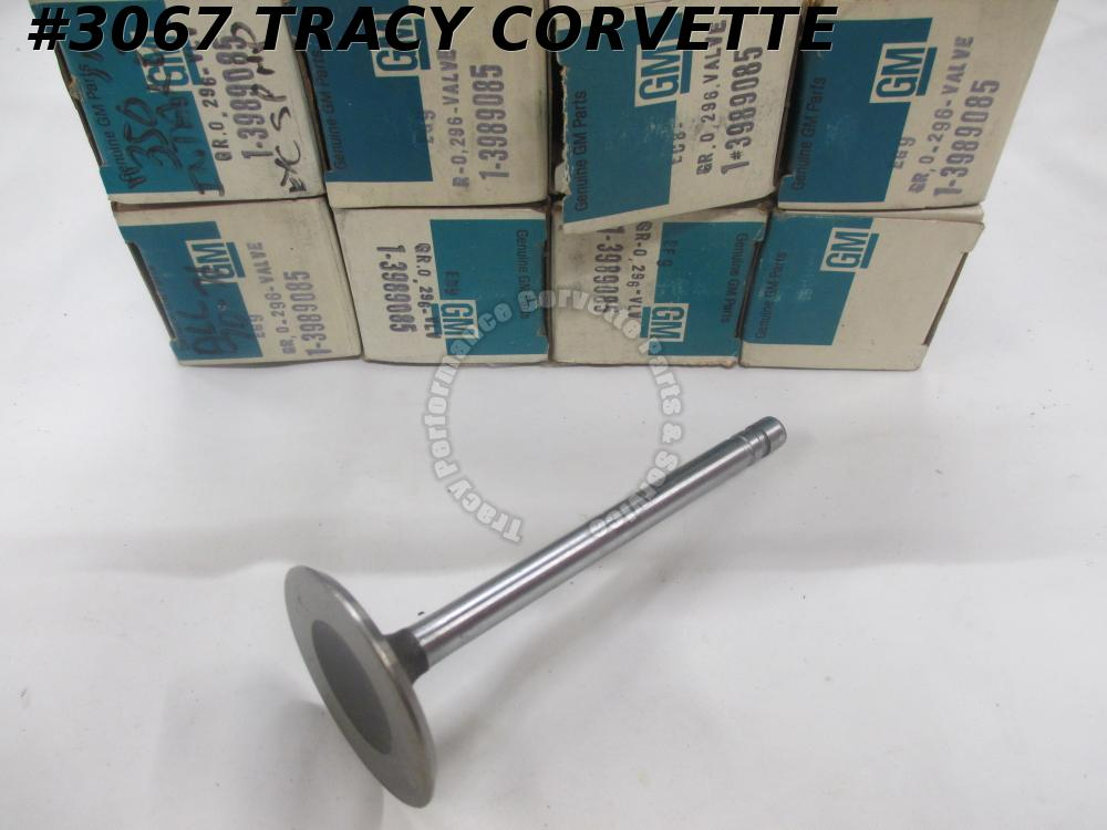 1961-1980 Corvette NOS 3989085 BBC Intake Valve 1.94 Inch Dia STD/Set of 8