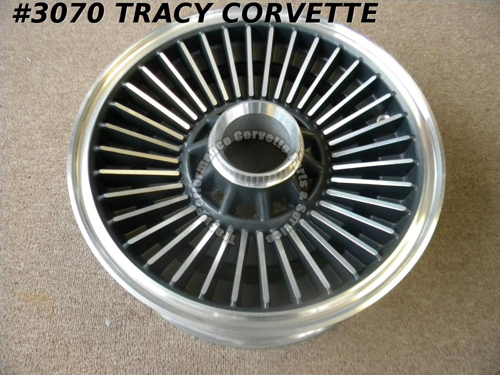 "1965-1966 Corvette New 15""x 6"" Alum Repro Direct Bolt Wheel (1)"